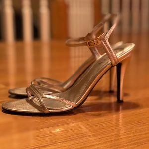 Lauren Ralph Lauren Gold Metallic Heels